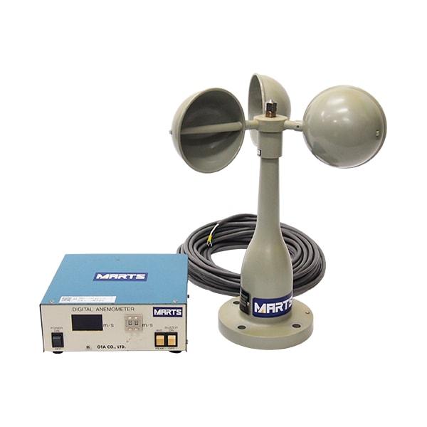 警報付デジタル風速計 OT-902