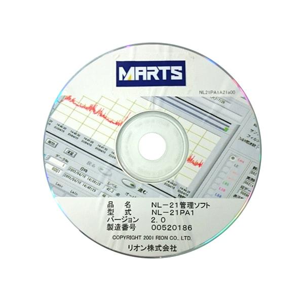 普通騒音計NL-21用管理ソフト NL-21PA1